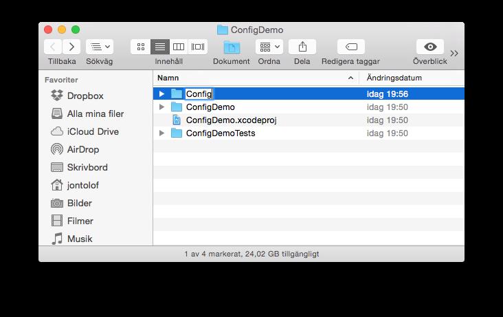Config Folder